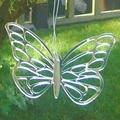 Waterproof butterfly shape acrylic mirror wall sticker/Butterfly Patterned Big Wings Mirrors