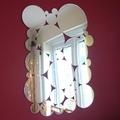 Waterproof circle round shape acrylic mirror wall sticker/Big Bubbles Mirrors