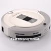 2014 New Coming Shining Logo 4 IN 1 Smart Vacuum Sweeper( Auto Recharged, LCD, Touch Button,UV lights, Remote)+Free Shipping