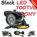 Celber 24 Black IR CCTV 700TVL Sony CCD Outdoor Security camera CCD camera Surveillance camera System w/ Bracket