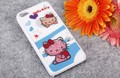 Hello Kitty lovely rhinestone cell phone case for iphone 4 4s and 5