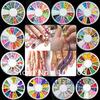 12 Wheel Nail Art Decoration Nail Sticker DIY 3D Tip Polymer Clay 2789