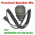 NEW Practical Speaker Mic for BAOFENG UV-5R UV-5RA+UV-5RB UV-5RC UV-5RD WOUXUN KG-UV6D/UVD1P Radio