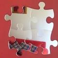 Waterproof circle round shape acrylic mirror wall sticker/Jigsaw Mirrors (4 jigsaws together)