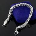 Fashion male jewelry titanium material anti-allergic male trend of the bracelet