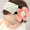 Min order is US10 (mix order)Chiffon flower hair band lace child wig hair band baby hair accessory hair band baby headband