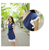 Free shipping 2013 new fashion Korean small fresh summer chiffon dress