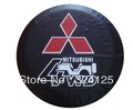 "4WD/V31 Factory direct FOR MITSUBISHI PU spare tire cover 14"" 15"" 16"" 17"" PVC wheel cover protect from UV&dust Free shipping"