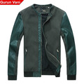99 top limited edition high quality gv2013 spring male short design leather jacket outerwear