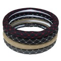 Quality 2013 slip-resistant super-fibre leather steering wheel sports type car steering wheel cover four seasons general