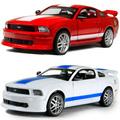 Car toy car alloy WARRIOR alloy car models FORD gt500 roadster acoustooptical belt