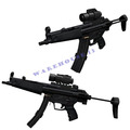 2013 hot sales Free shipping paper model weapon MP5 Submachine gun1:1 simulation Firearms Handmade toys 3d puzzles for adults
