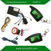 Promotional Hot selling two way motorcycle alarm,LCD remotes vibration and light alarm,long distance remote,LED indicator,CE