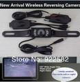 wireless car camera/. wireless video camera monitor rear view system / 3.5 HD car monitor+2.4G wireless video camera