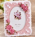 Free shipping New arrival resin rose photo frame gift crafts decoration rustic princess personalized photo frame