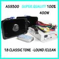AS9300 Alarm system 400w car horn /Speaker alarm/18Tone / Alarm/ Siren sounds / Alarm Service