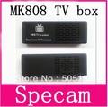 Free shipping MK808 Andriod 4.1 Dual Core Rockship Rk3066 A9 1.6GHZ 1GB 8GB Mini PC WiFi TV Box 3D TV Dongle TV Stick,10pcs/lot
