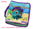 Free shipping Portable stereo English cloth books Octopus pirate captain cloth books BABY TOYS YR-040