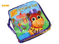 Free shipping 5pcs/lots Portable stereo English cloth books pony adventure BABY TOYS YR-038