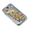 Unique Design Bling Case Glittering Rhinestone Colorful Peacock in Crystal Diamonds Case For Samsung Galaxy S4 S IV i9500