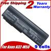6600mah Laptop Battery For Asus M50V M50Q M50S M50Sa M50Sr M50Sv M50Vc M50Vn M50Vm