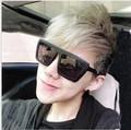 Fashion male e9253 Women ladygaga vintage black sun glasses box myopia sunglasses fashion