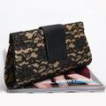 Free shipping 0806 beige evening bag fashion handbag women's clutch evening bag day clutch bag small