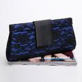 Free shipping Blue 0806 women's evening bag fashion handbag women's clutch evening bag day clutch bag small