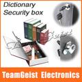 Novelty Mini self safe Book Money Saving box Safe Security Book Dictionary Cash Money Bank Box Locker & Key Promotion Gift Small