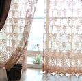 Free shipping Reticularis coarse curtain window screening balcony cutout lace thick