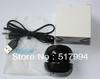 shinning black high end mini hamburger portable speaker for mp3 computer iPhone smartphone etc. free shipping