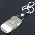 free shipping Mitsubishi keychain MITSUBISHI emblem keychain metal keychain car quality keychain