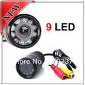Free Shipping 9 LED IR LED Car Rear View Camera Reverse Backup Camera