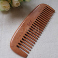 South natural dh6-6 village cherry wood comb anti-static care cherry wood comb