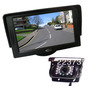 "4.3"" Car LCD Monitor + 18 LED IR Waterproof Car Camera with 10M cable Free Shipping"