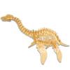 2015 wholesale Children Educational Gift popular handmade plesiosaurus toy 3D diy wooden puzzle toys WJ0050