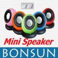 Flower Fashion shaper loudspeaker sound box mini speaker for laptop computer , drop shipping