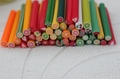 canes polymer clay nail art Stickers cane fruit and flower Cutted free shopping + free Blade