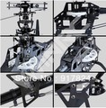 (Clearance Sale: FREE SHIPPING)-rc model 3D ARF CARBON VWINRC 550E 6ch rc helicopter 6CH kit