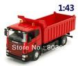 Free Shipping Novelty 1:43 Alloy Car Toy Self-discharging Truck, Transport Cart Model, Great Educational Car Models For Children