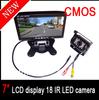 "18 IR LED Night Vision Car Reversing Waterproof camera +7 ""Car Monitor Mirror Car Mini 10M video cable"