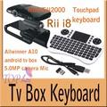5pcs EU2000 box Google Android HD2 TV stick camera 5.0MP Mic HDMI 1GB/ 8GB + 5pcs 2.4G Rii Mini i8 Wireless Keyboard Touchpad