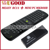 Freeshipping Original MK808B Android 4.2 Mini PC RK3066 Dual Core Stick TV BOX Bluetooth with Free RC11 Air Mouse Keyboard