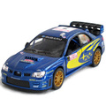 FreeShipping Forever Classic Alloy Cars Model Toy Racing Of Car Subaru Subaru Impreza Wrc Sports Car Toys For Children For Gift