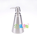 Sanitary ware hydraulic bottle lotion bottle stainless steel soap dispenser taper cone plain bottle