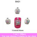 Fashion 3D Metal Nail Art Decoration / Cellphone Rhinestone Glitters Decoration, 100pcs/lot + Free Shipping