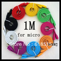 Generic Micro USB Cable,Data & Charger USB 2.0 Line,For Nokia HTC Samsung Motorola Blackberry