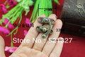 29 * 33MM Zinc alloy lock horns antique wooden boxes fixed shackle lock hasp hasp lock alloy