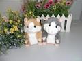 Free shipping Cute Talking toys, Hamster talking Plush Animal 4 pcs/1 lot
