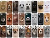 new arrival love animal cute lion dog cat pig leopard tiger panda wolf IMD plastic hard back shell for iphone 5 5s mobile case